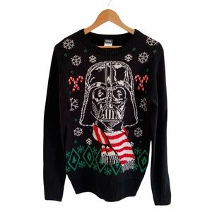 STAR WARS Darth Vader Ugly Christmas Sweater NWT S